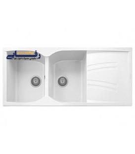 سینک ظرفشویی لتو گرانیتی مدل نایکی سفید