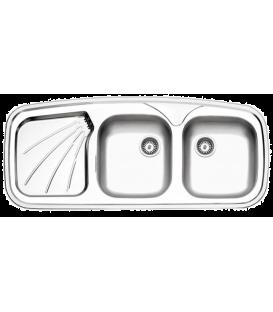 سینک توکار 270 استیل البرز 116*51