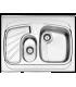 سینک روکار کد 608.60 استیل البرز
