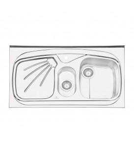 PS 1106سینک روکار پرنیان استیل
