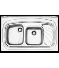 سینک روکار کد 611.60 استیل البرز